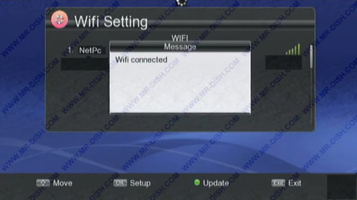 Now Connect wifi in Receiver