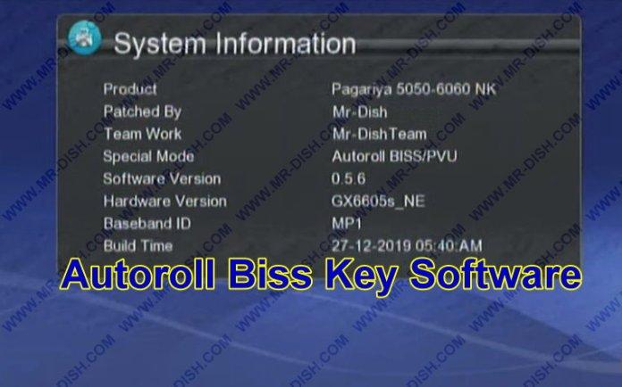 GX6605.nk Board Receiver Autoroll Biss Key Software