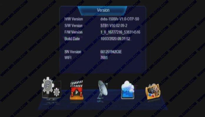 1506FV Lion Star Software Version
