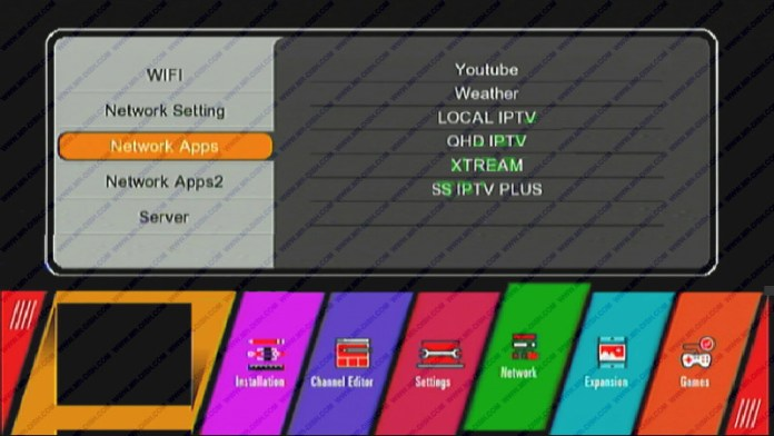 GX6605S HW203.00.001 SOFTWARE WITH Xtream IPTV