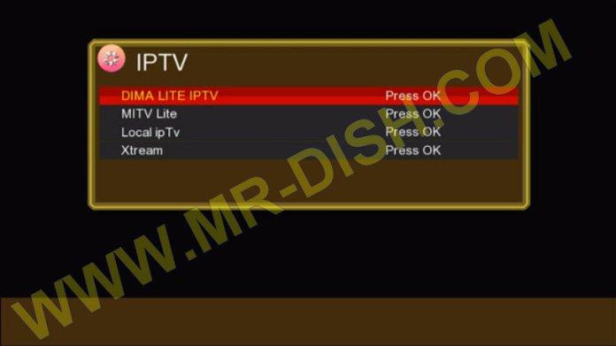 GX6605S HW203 F1 F2 RECEIVER GOLDEN MENU IPTV Option