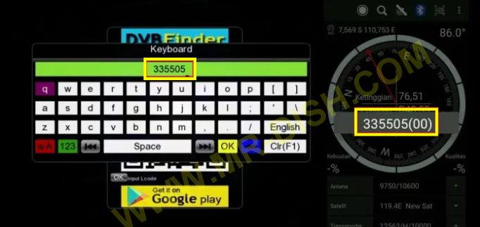 Gx6605s 5815 V4.1 RECEIVER QR Code Scaner