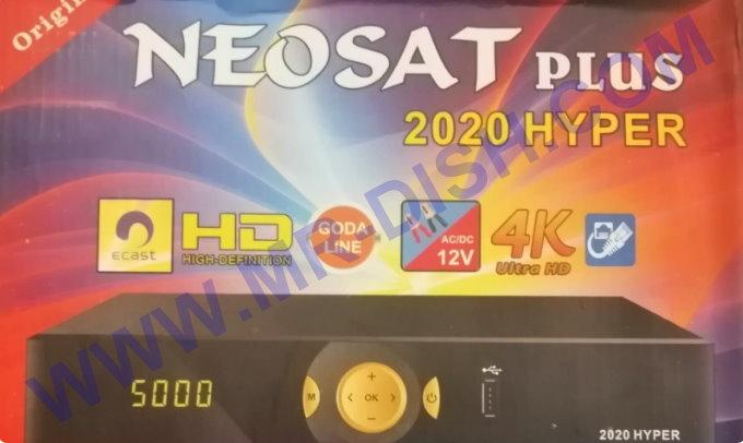 NEOSAT PLUS 2020 HYPER 1506LV RECEIVER SOFTWARE