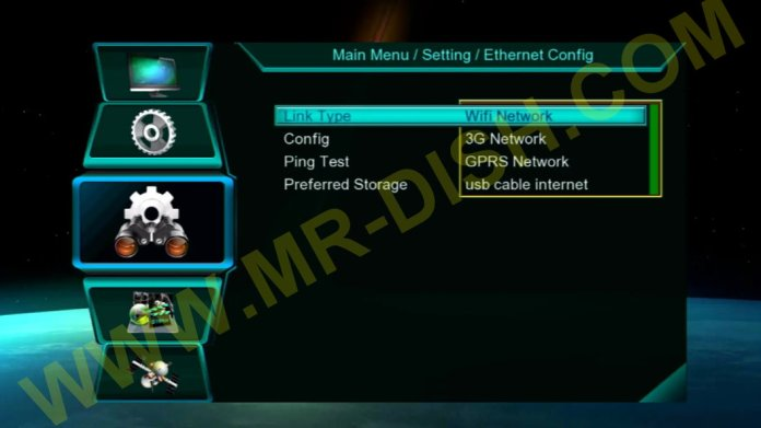 NEOSAT PLUS 2020 HYPER 1506LV RECEIVER Network Option