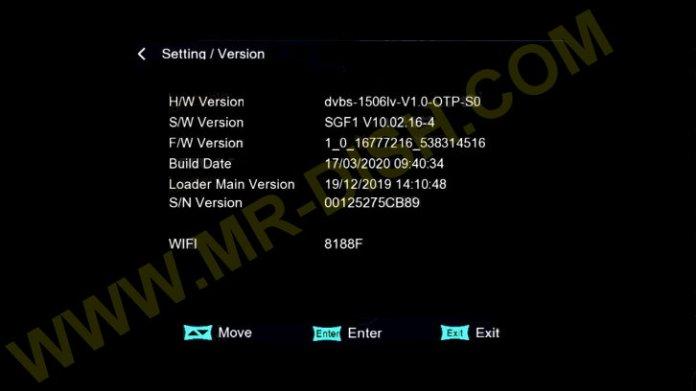 STAR TRECK SUPER 9990 1506LV ORIGINAL SOFTWARE INFORMATION
