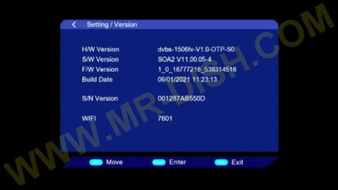 VANSTAR V8 1506FV NEW SOFTWARE Information