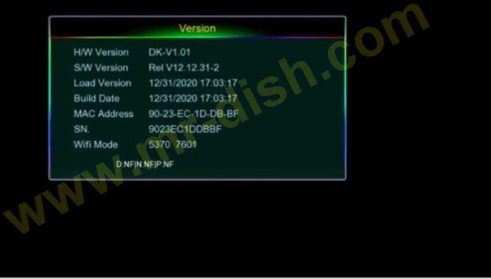 VISION PREMIUM II 1507G 8M NEW SOFTWARE Update Information