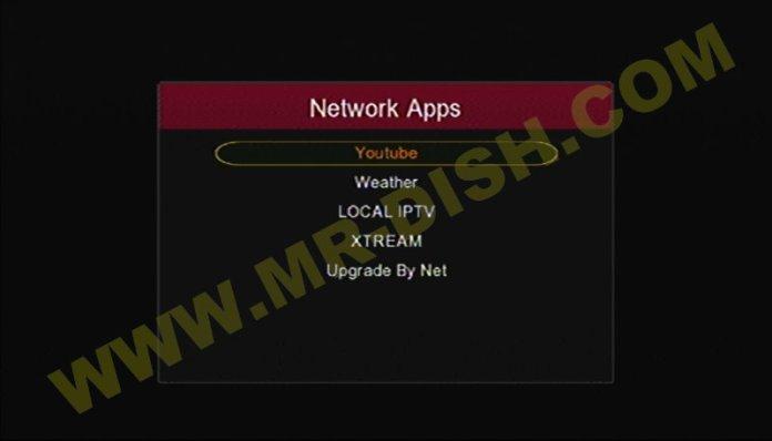 GX6605S HW203 Network Apps