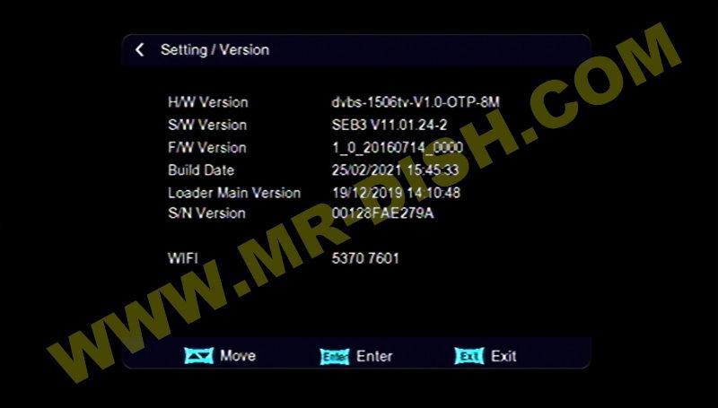 MATRIX ASH Y7 1506TV 8MB New Software Version