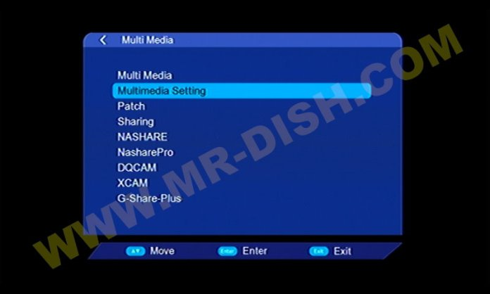 ONE STAR X5 1506TV Multimedia Code