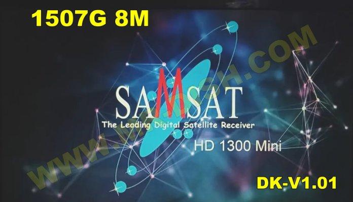 SAMSAT 1300 HD MINI 1507G 8M NEW SOFTWARE