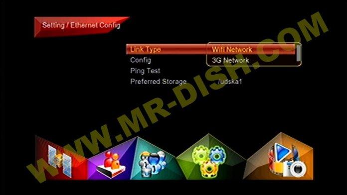 OPENSKY MINI HD120-PLUS Network opton