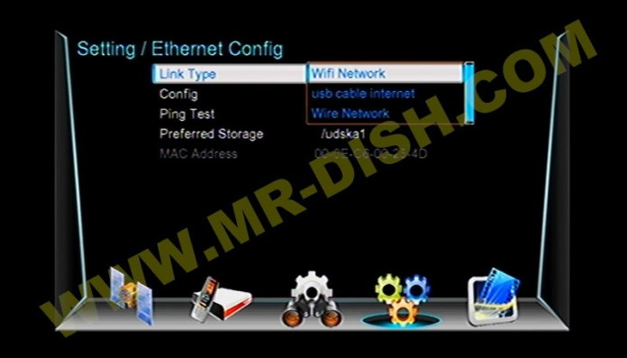 ROTANA 999 1506TV 4M Network Option
