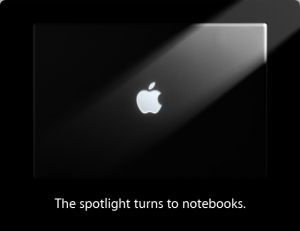 Apple-Event: The spotlight turns to notebooks