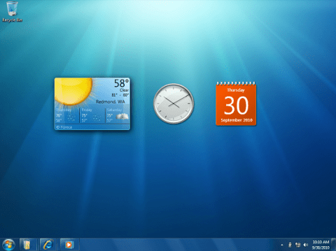 Windows 7: Gadgets