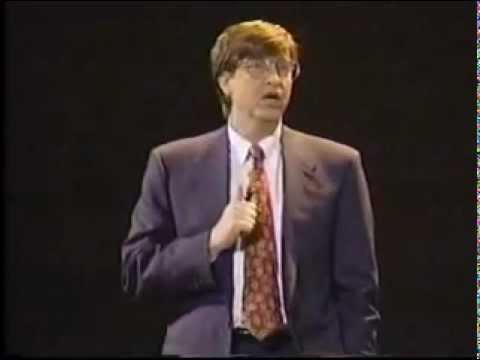 "Bill Gates 1995: ""Information at Your Fingertips (2005)"""