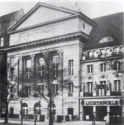 Union-Palast um 1913, Foto: Berliner Architekturwelt 18 (1916)