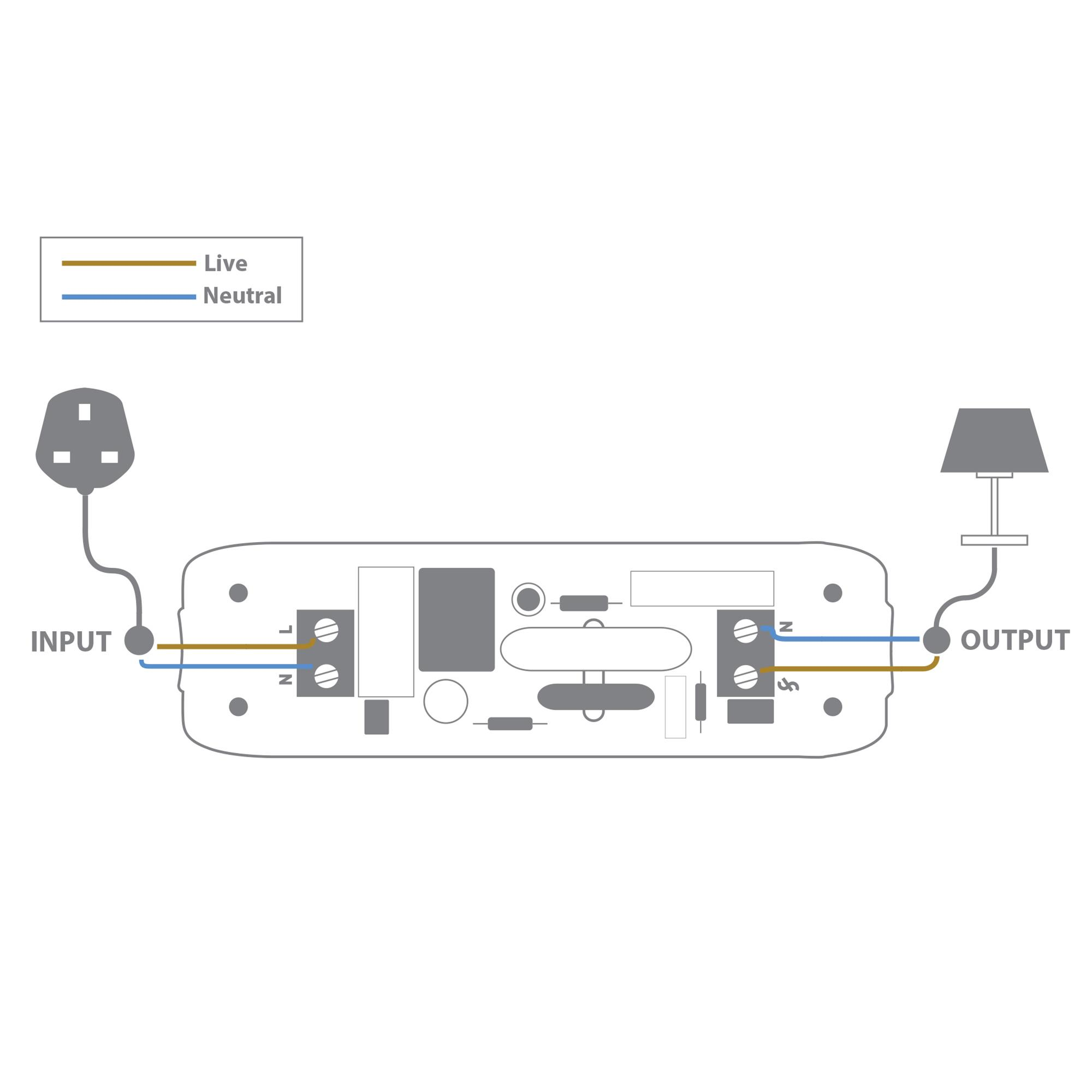 2 way light dimmer switch wiring