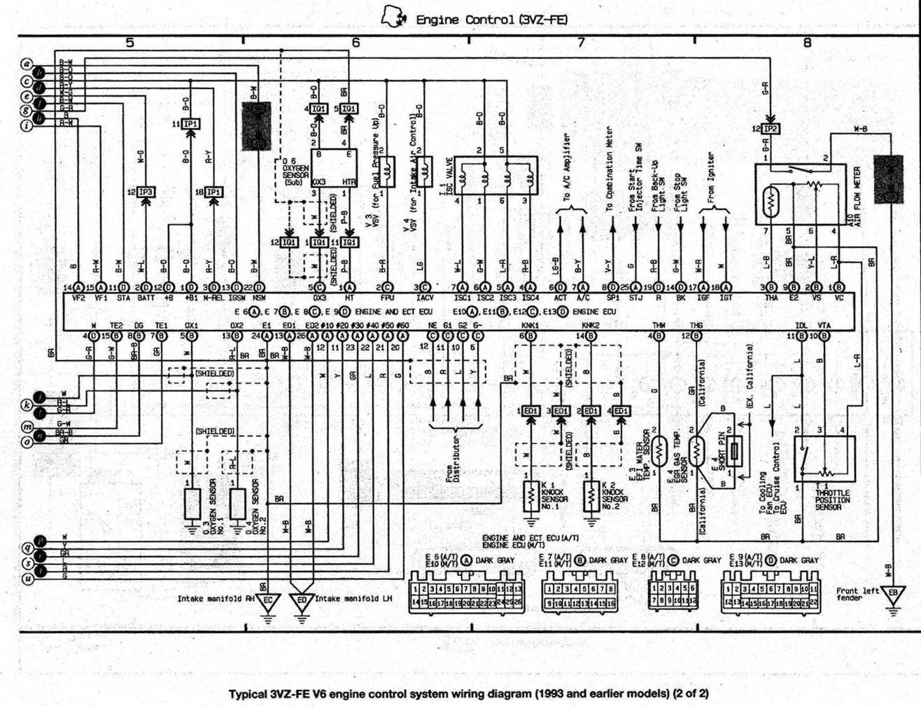 1993 toyota celica radio wiring diagram of a single phase dol starter 3sgte engine get free image about