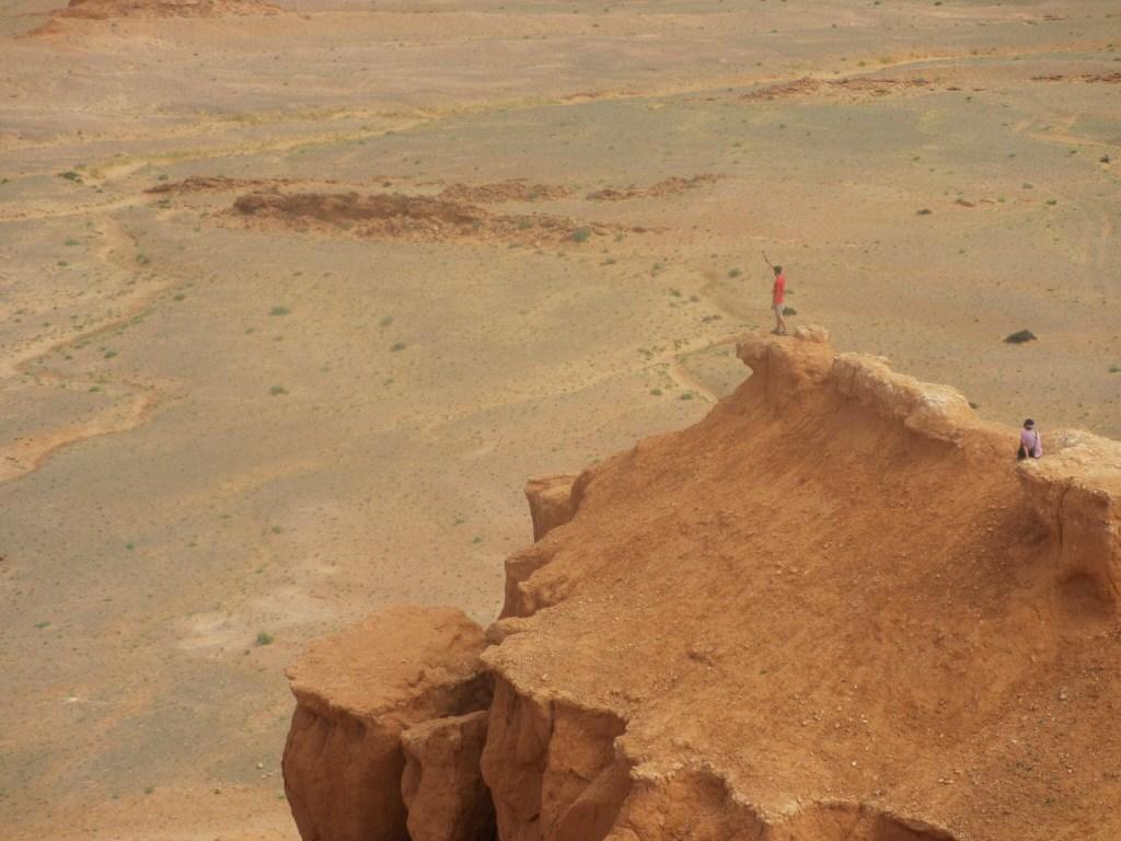 Red Cliffs in the Gobi Desert, Mongolia