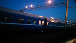Train from Warsaw to Moscow via Belarus!