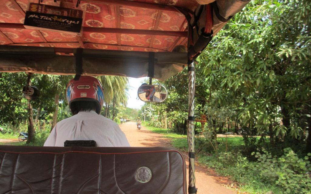 Tuk Tuk in Cambodia