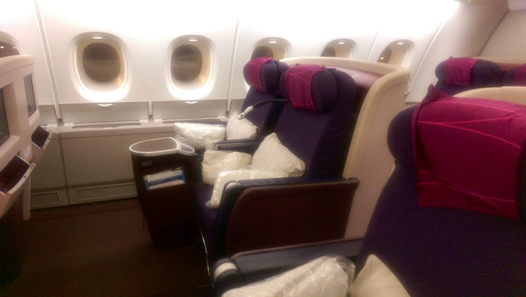 MAS Business Class - Long Haul
