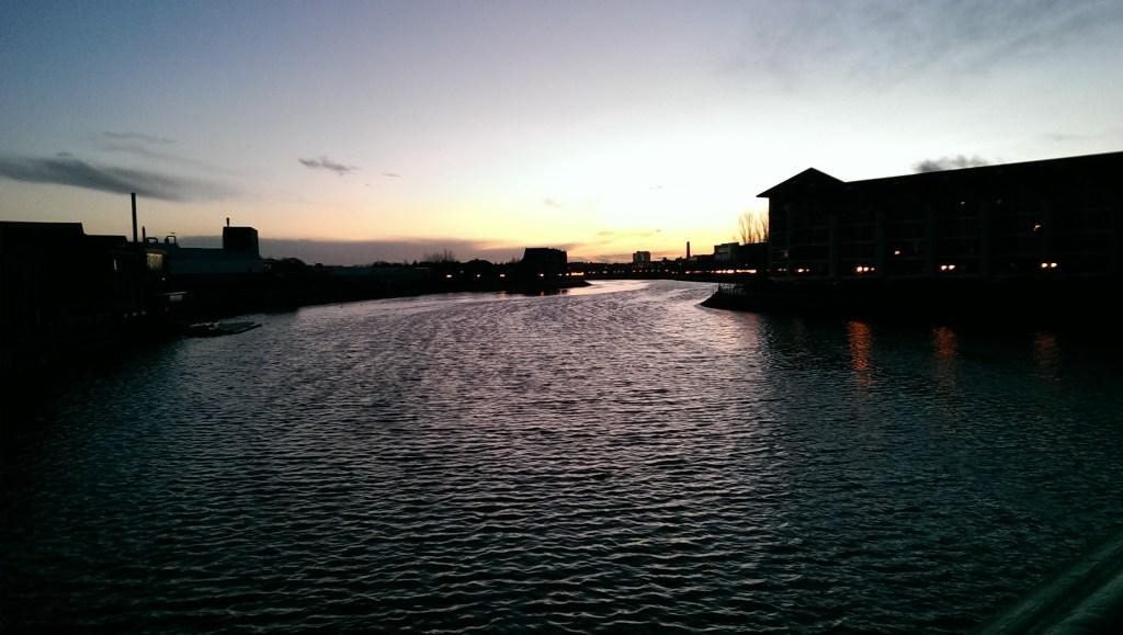 Lagan River, Belfast, Northern Ireland