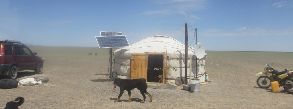 Staying with locals in the Gobi Desert, Mongolia