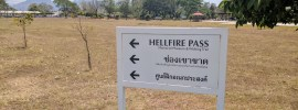 The sign for Hellfire Pass that I did NOT imagine