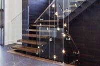 mrail Modern Stairs   Frameless glass railings