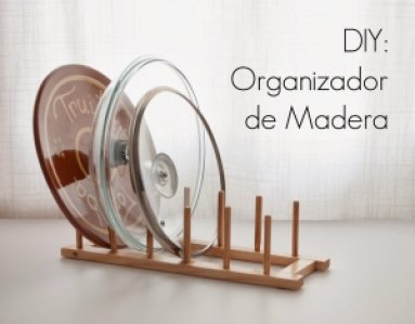 DIY organizador de madera