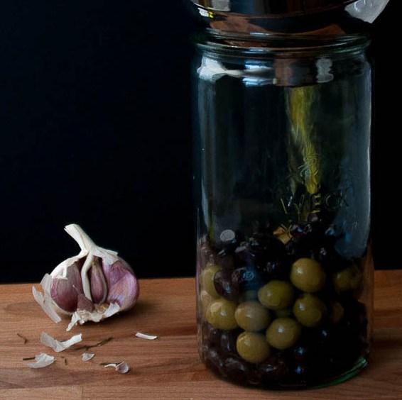Aceitunas Marinadas