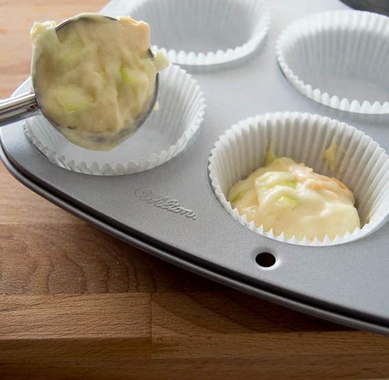 Muffins salados sin gluten sin lactosa