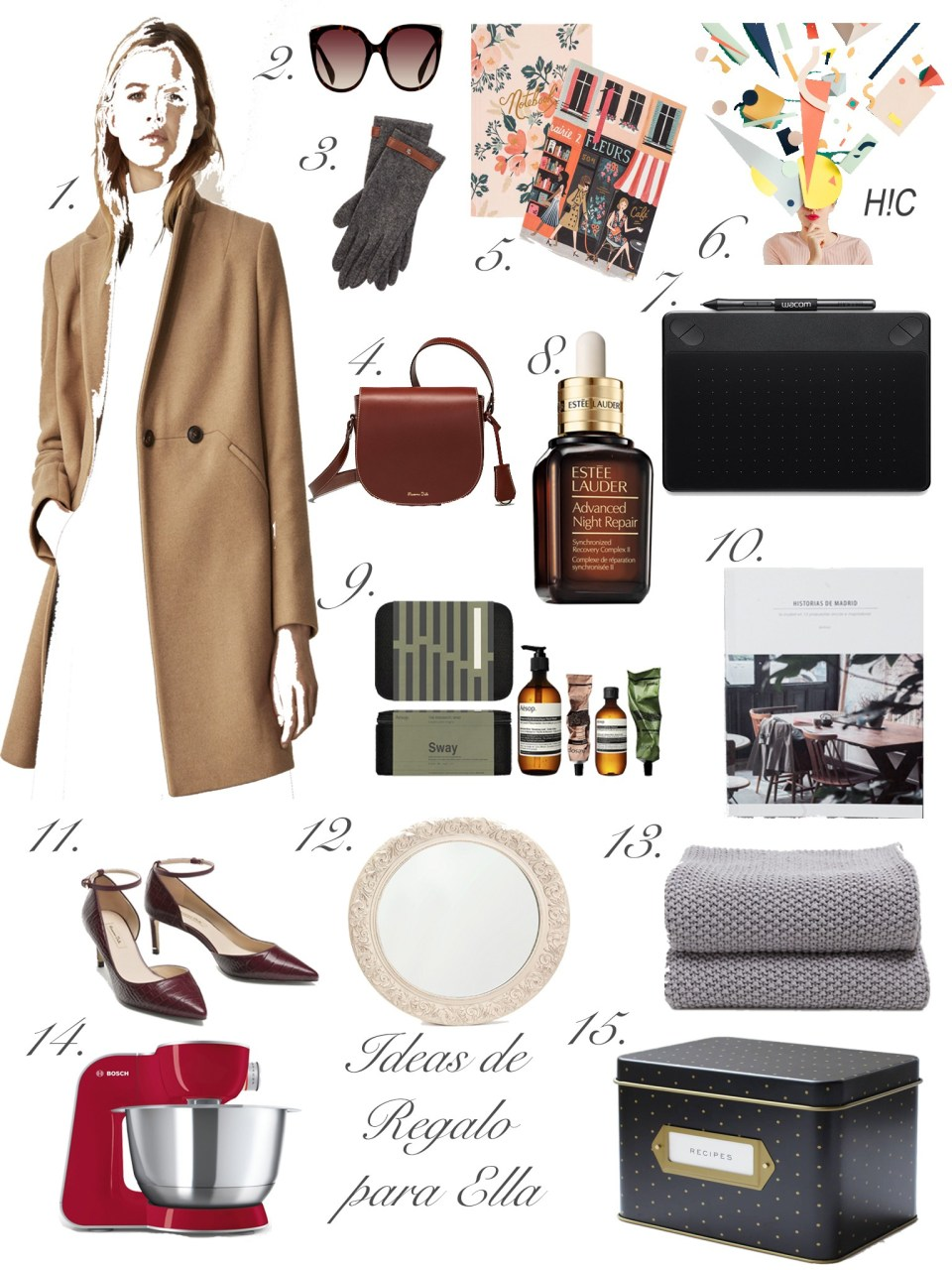 Gift Guide: 15 Ideas de Regalo para ella