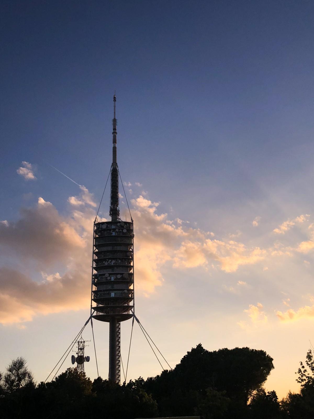 Sobre el vértigo. Torre de Collserola