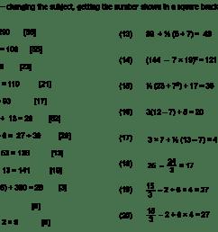 algebra worksheet: NEW 286 ALGEBRA BODMAS WORKSHEET [ 940 x 1417 Pixel ]