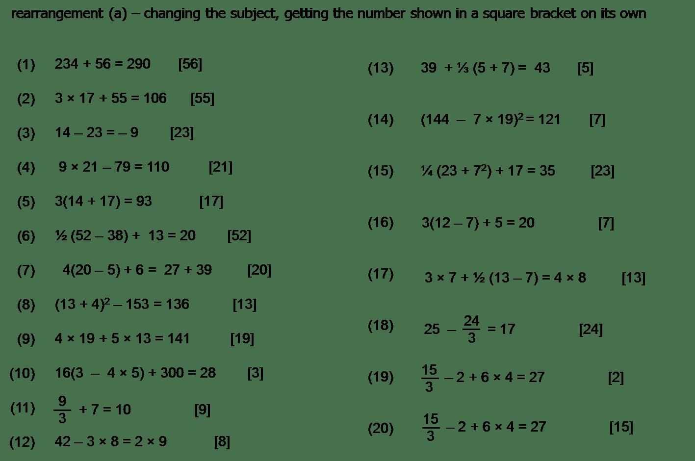 hight resolution of algebra worksheet: NEW 286 ALGEBRA BODMAS WORKSHEET