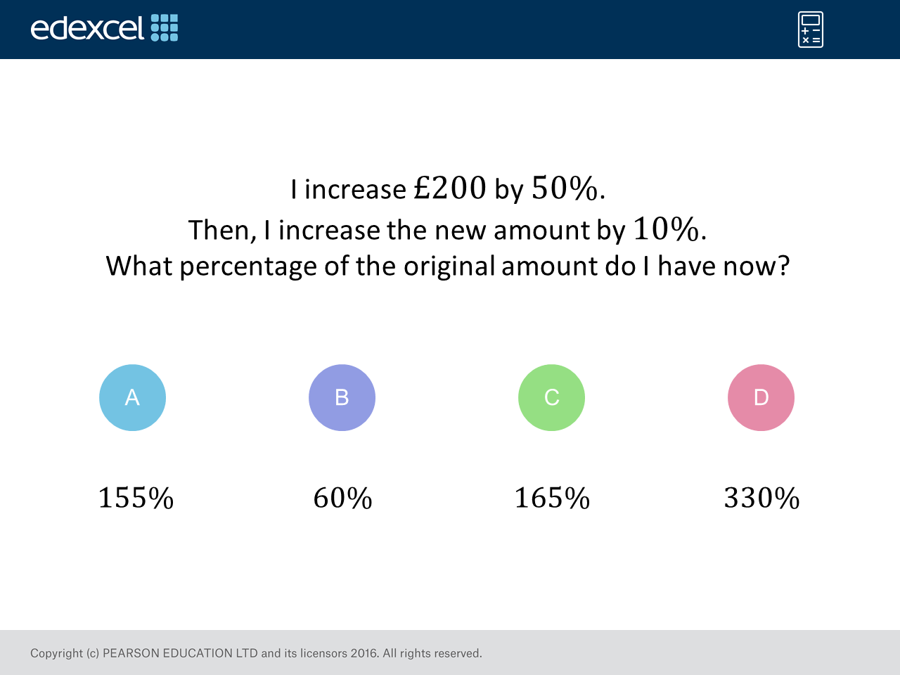 Percentage Increase Gcse Maths Question Of The Week