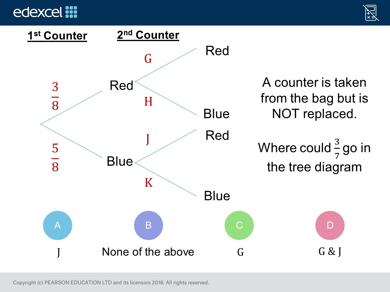 Tree Diagrams Foundation Higher Gcse Maths Question Of The Week On Mr Barton Maths