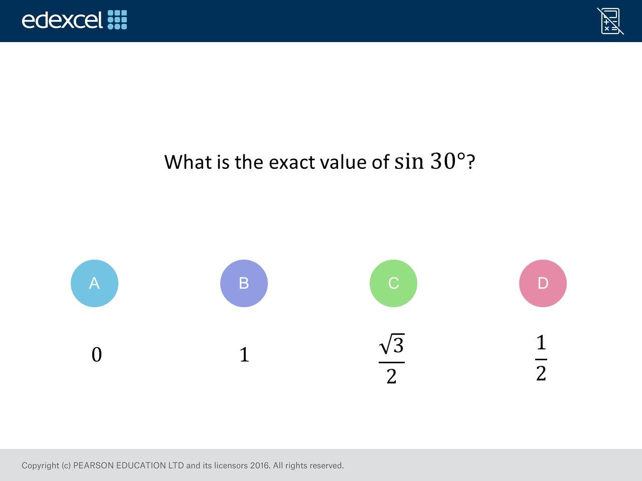 Exact Values Of Trigonometric Ratios Foundation Higher On Mr Barton Maths