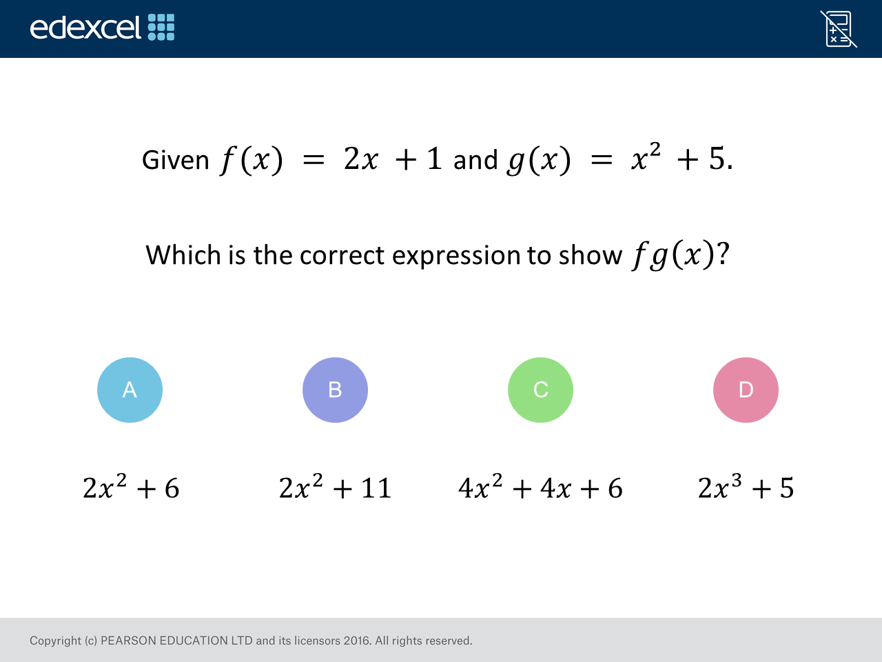 Composite Functions Higher Gcse Maths Question Of The Week On Mr Barton Maths