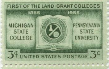 Land Grant Stamp