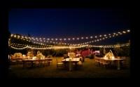 Globe Lighting, Bistro Lighting, String Lighting Rental ...