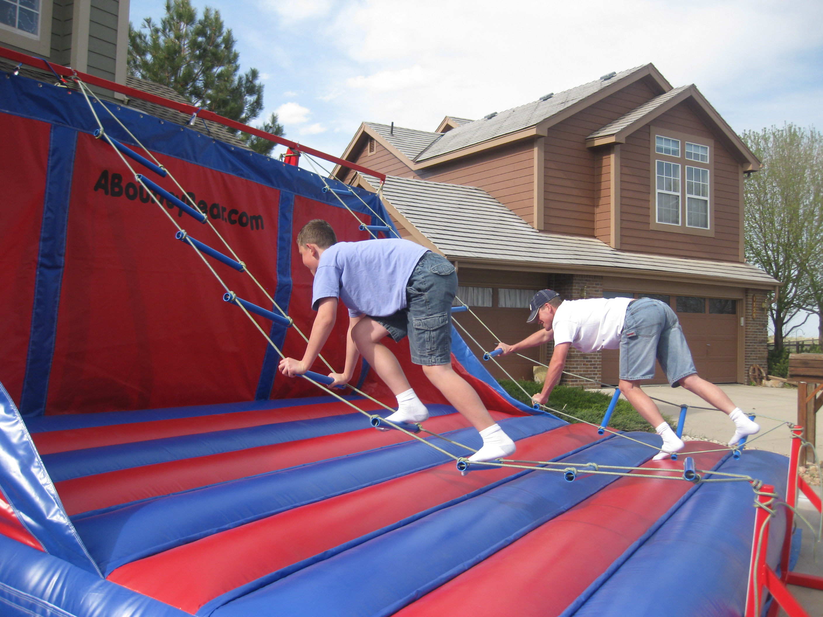 Inflatable Activity Jacob S Ladder