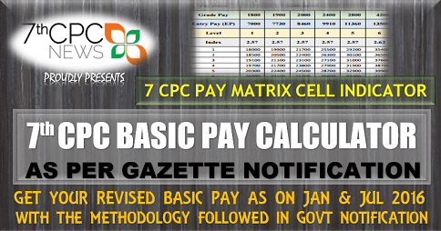 7th Pay Commission Latest News (New Pay Scale Calculator)