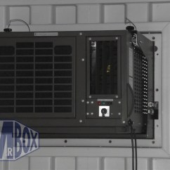 Air Conditioner Container 3 Wire Led Trailer Light Wiring Diagram Containers Fitted With Picture Frame Conditioning Unit