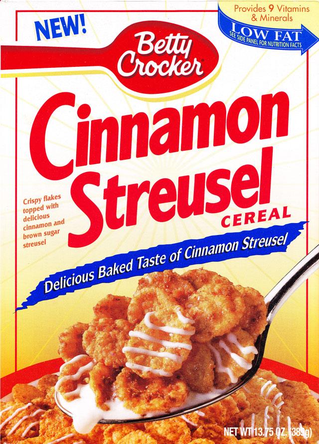 cinnamon streusel cereal mrbreakfast