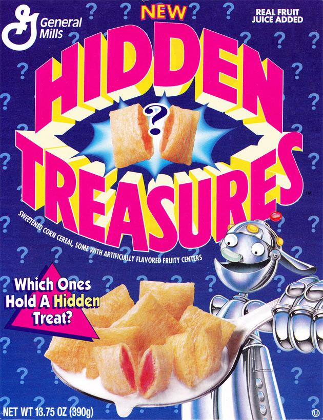 hidden treasures cereal mrbreakfast