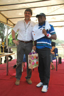 Dr Davis Nwakanma won the 'Inspirational Leader' award for being a leader who inspires and motivates his team